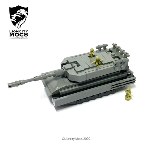 Leopard 2SG - Mini Building Kit SG1019