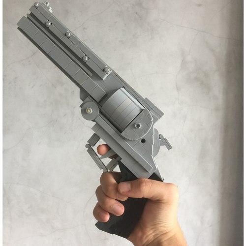 (Pre-order)Vash's the Stampede's .45 Long Colt Lego MOC - 705