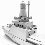 Independence Class Littoral Mission Vessel Microscale - 202
