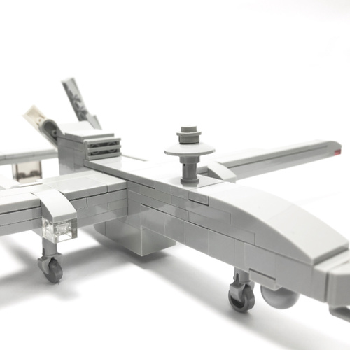 Heron 1 Unmanned Aerial Vehicle Minifigure scale - 105