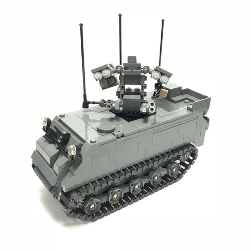M113A2 Ultra Mechanised Igla Weapon Fire Unit Minifigure Scale - 106