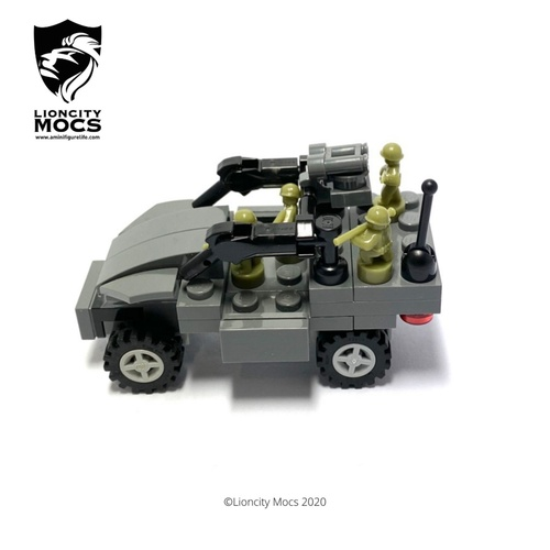 Light Strike Vehicle Mk II - Mini Building Kit SG1001
