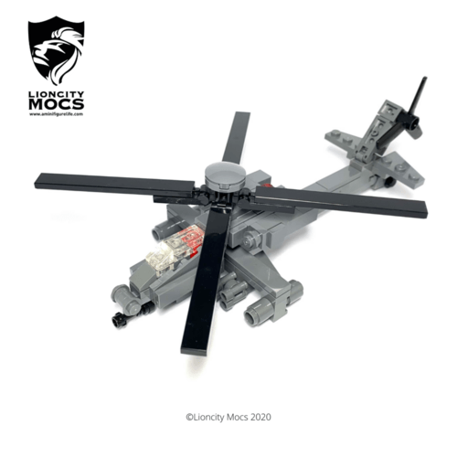 AH-64D Apache Longbow - Mini Building Kit SG2014