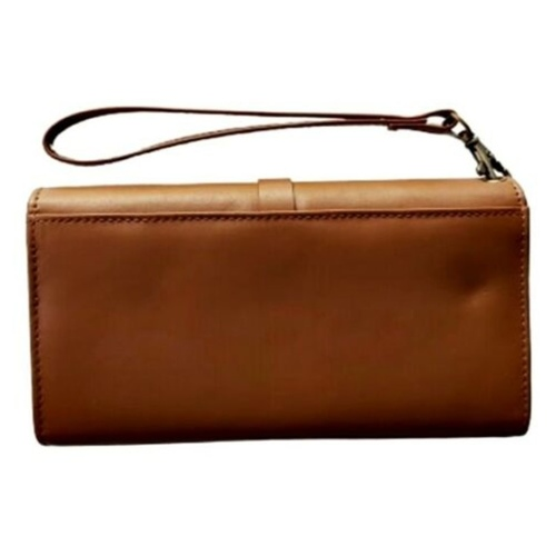 Stella Leather Wallet with Wristlet.