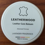 Leatherwood Balsam 250ml - Scented with LAVENDER - Cleaner, Conditioner ,Water Repellent - All Leathers including Shoes, Handbags, Garments, Furniture, Automotive Leathers - Made in Germany
