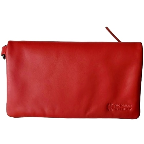Emma Zipper Wallet with Wristlet Colour Orange