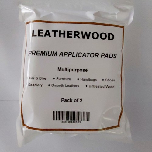Leatherwood Premium Applicator Pads (Set of 2 Pieces)