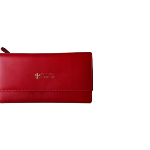 Amy Long  Wallet  Red