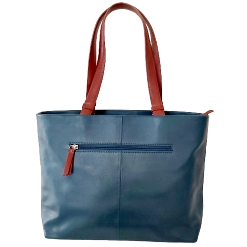 Sintra Premium Shopper Shoulder Bag  Colour Teal