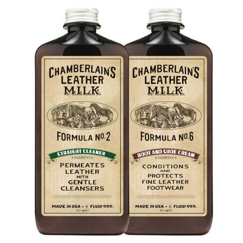 BOOT & SHOE CLEAN & CONDITION LEATHER CARE SET NO. 2 & NO. 6