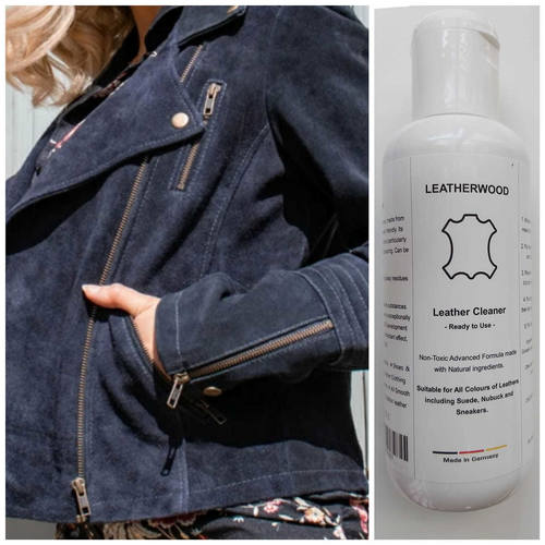 Leatherwood  Cleaner for Leather,Suede,Nubuck ,Sneaker & Fabric 250 ml