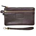 VIVO WALLET  WRISTLET BROWN