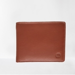 Mens Real Leather Wallet - 504 Tan RFID Secure