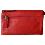 Emma Zipper Wallet with Wristlet Colour Orange