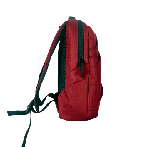 Cross Zipper -  Red
