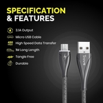 Trovo Zinc Alloy Micro Cable