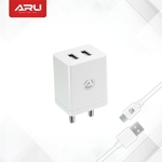 ARU Dual USB Wall Charger
