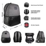 CS Design Mexico Laptop backpack
