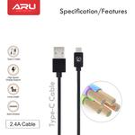 ARU Nylon Braided Type-C Cable