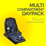 Champ Pro Antitheft Laptop Bagpack With Integrated USB Charging Port
