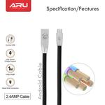 ARU Zinc Alloy Micro USB Cable