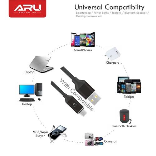 ARU TPE Micro USB Cable
