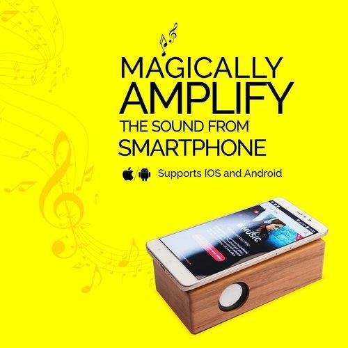 Rejoy Wooden Magnetic Induction Speaker
