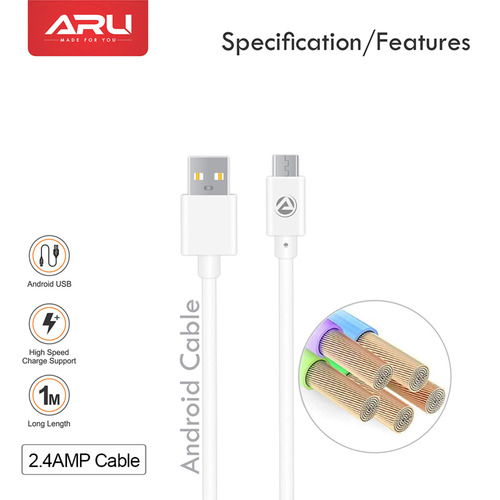 ARU PVC Micro Usb Cable