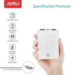 Aru 5000 mAh Power Bank