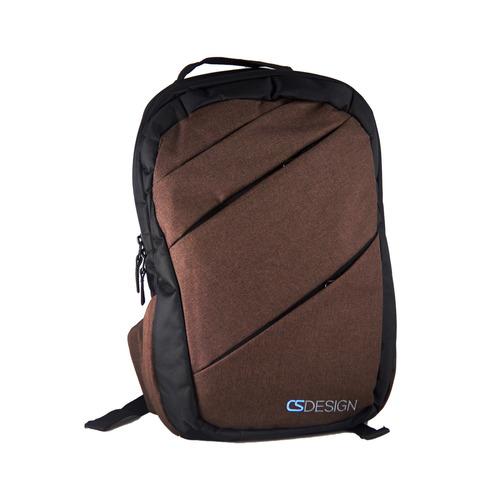 Cross Zipper - B/Brown