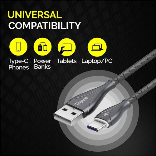 Trovo Zinc Alloy C-Type Cable