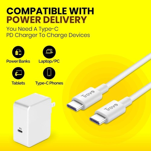 Trovo TPE Type C to Type C Cable