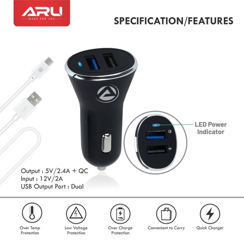 ARU Quick Car Charger