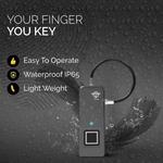 Finger Lock - Fingerprint Pad Lock