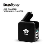 Duo Power Car Charger Plus Wall Charger