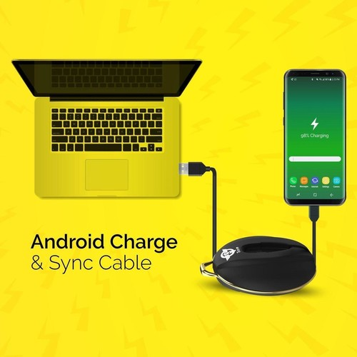 Go Charge Lite Android Cable Organizer with retractable cable for Android Devices