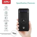 ARU 10000 mAh Wireless Power Bank