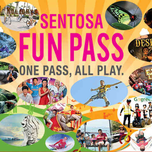 Sentosa Fun Pass (Adult)