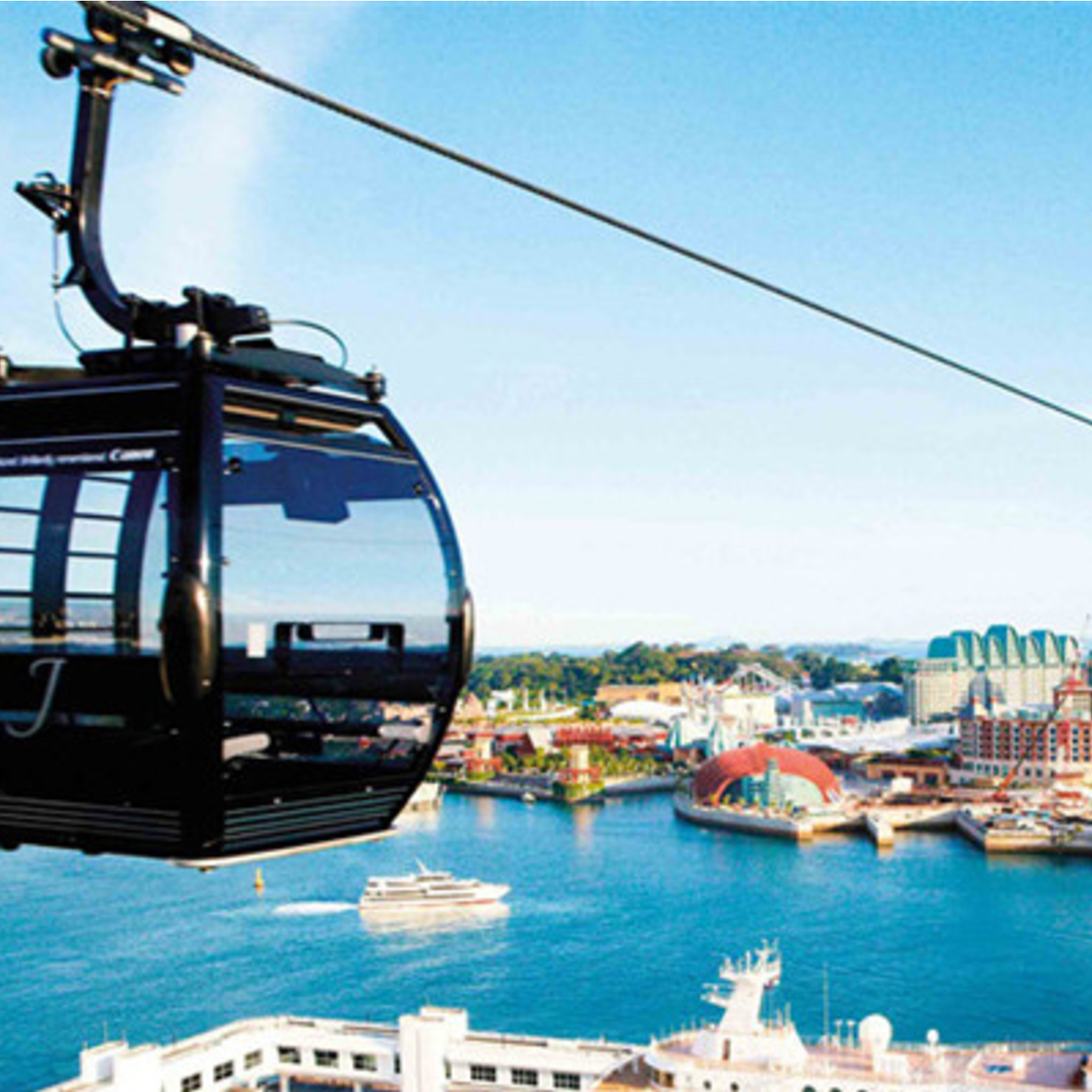 Sentosa Cable Car (Adult