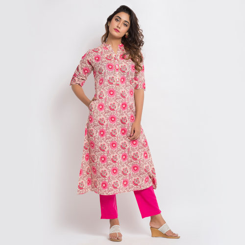 Naksh casual Kurti (with pocket)