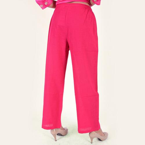 Pant basic pink