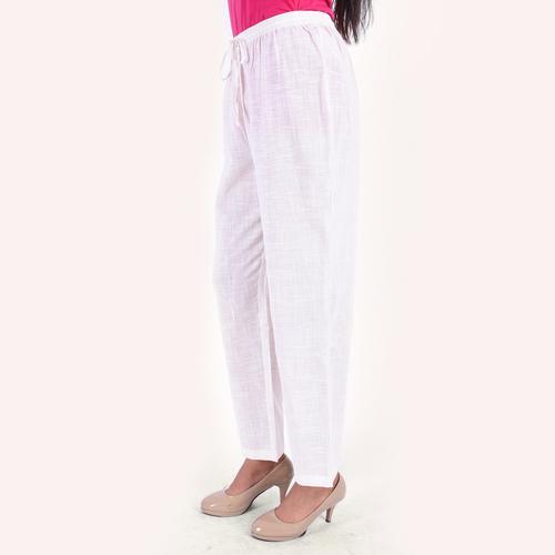 Pant basic white