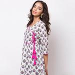 Naksh Casual Kurti Angarkha Style
