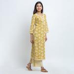 Naksh Kurti-Pallazo Set