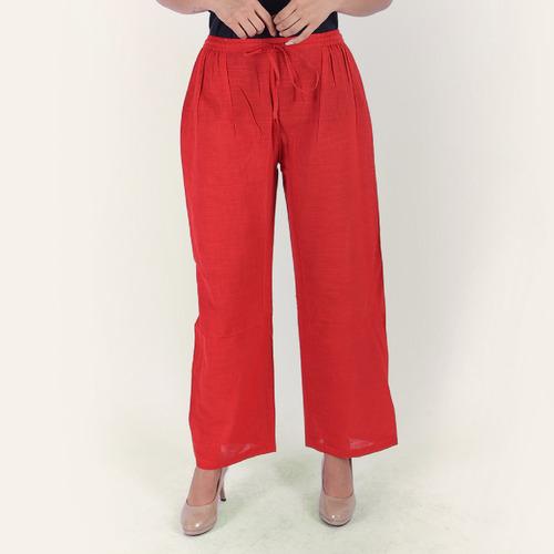 Pant basic red