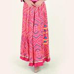 Naksh Semi-Festal Bandhani Skirt