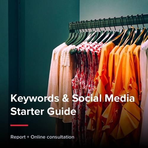 Keywords & Social Media Starter Guide - Fashion