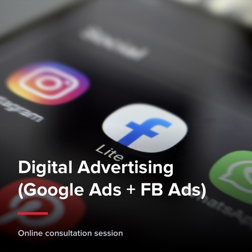 Digital Advertising (Google Ads + FB Ads)