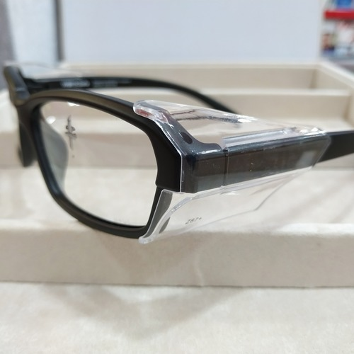 Worksafe Arion Matt black with safety lenses uncoated