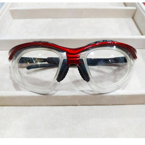 Sworke Optimus 2 Red with clear lenses/ cr39 1.56 mc emi